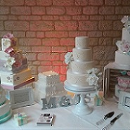 Wedding Cake Designs - Contemporary special occassion bespoke